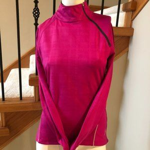 Running Room FIT-WEAR Lg Sleeve Top Pink size Sm